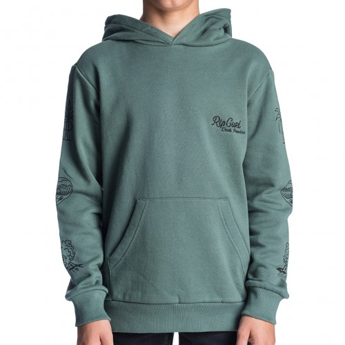 Sudadera Rip Curl Paradise Hooded Fleece Dark Forest