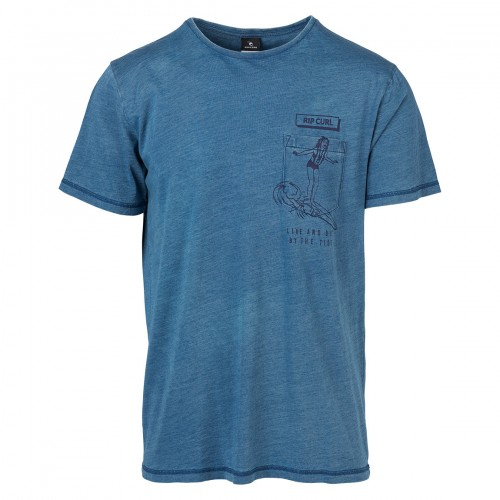 Rip Curl Pinup Live&Dye Tee Peacot Heavy