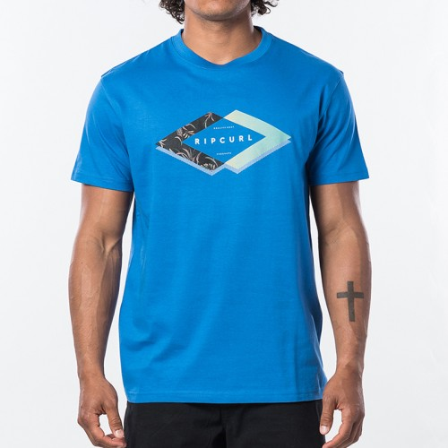 Camiseta Rip Curl Quoted Tee Blue Star