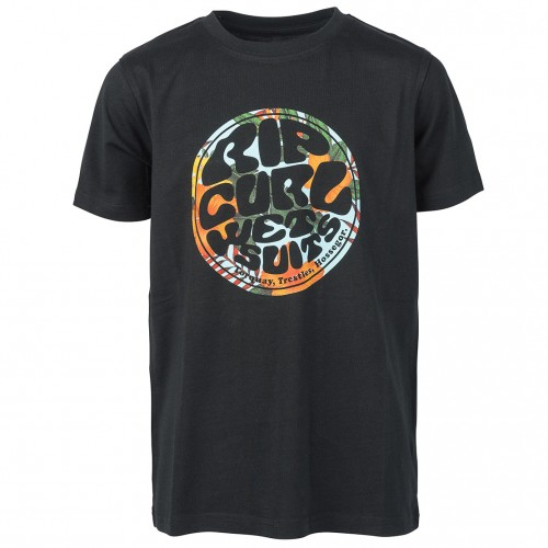Camiseta Rip Curl Rider's Boy Tee Black