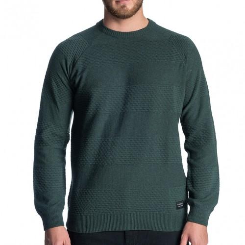 Jersey Rip Curl Skipper Crew Sweater Forest Green
