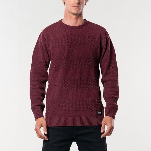 Jersey Rip Curl Skipper Sweater Maroon