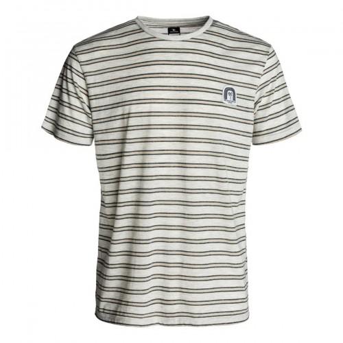 Camiseta Rip Curl Stripy Rainbow Tee Optical White