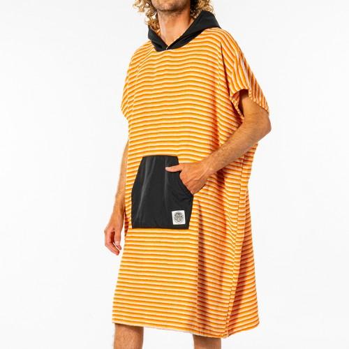 Poncho de surf Rip Curl Surf Sock Hooded Towel Orange
