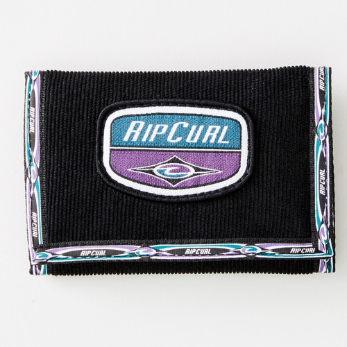 Cartera Rip Curl Surf Wallet Re-Issue Black/Purple