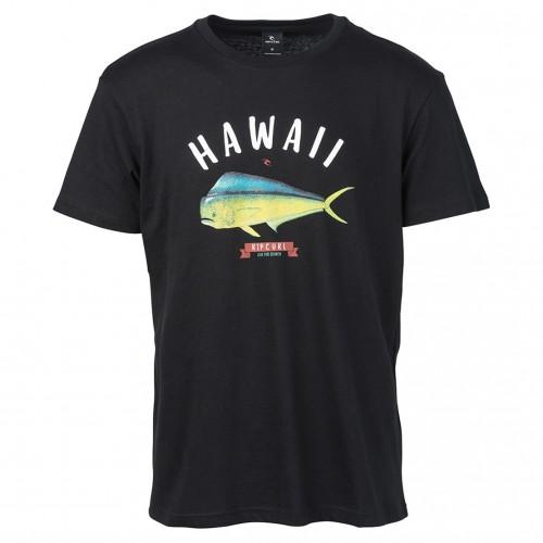 Camiseta Rip Curl Surfing States Tee Black