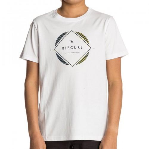 Camiseta Rip Curl Triround Tee Optical White