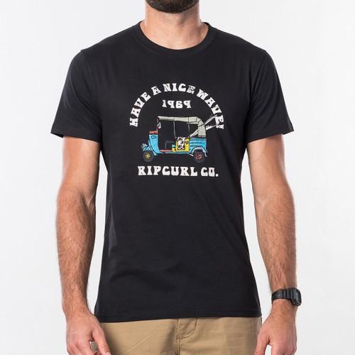Camiseta Rip Curl Tuc Tuc Tee Black