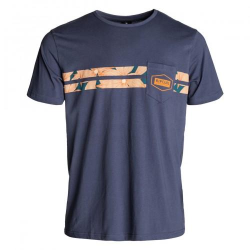 Camiseta Rip Curl Underline Tee Blue Indigo