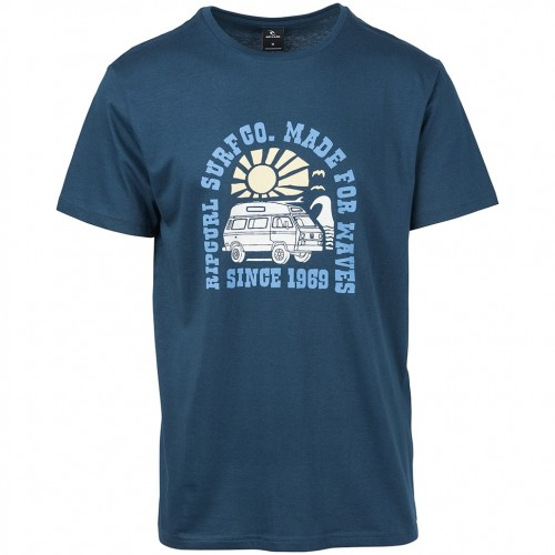 Camiseta Rip Curl Van Surf Tee Navy