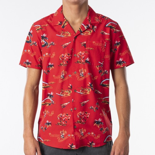 Camisa Rip Curl Velzy Bright Red