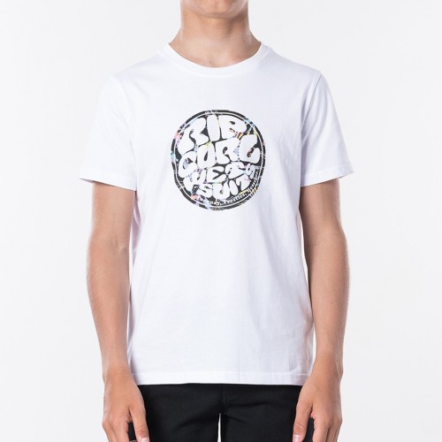 Rip Curl Wetty Filter Tee Boy Optical White