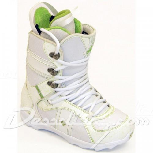 Botas de snowboard Rome Bastille White-Green
