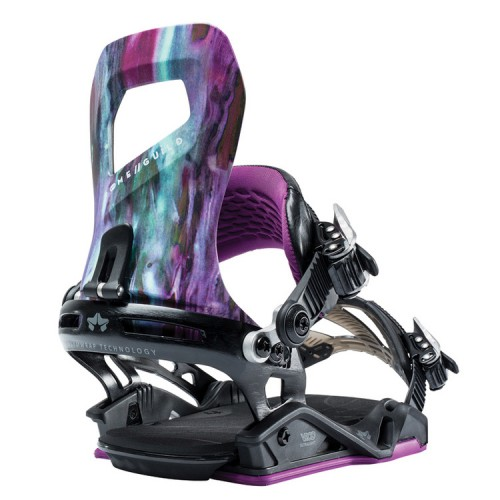 Fijaciones de snowboard Rome Guild Purple Reign 2019