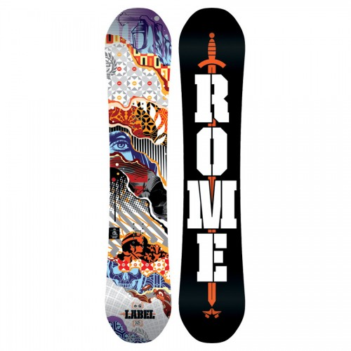 Tabla de snowboard Rome Label