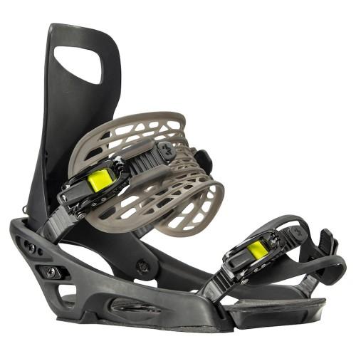 Fijaciones de snowboard Rome Slice Black 2020