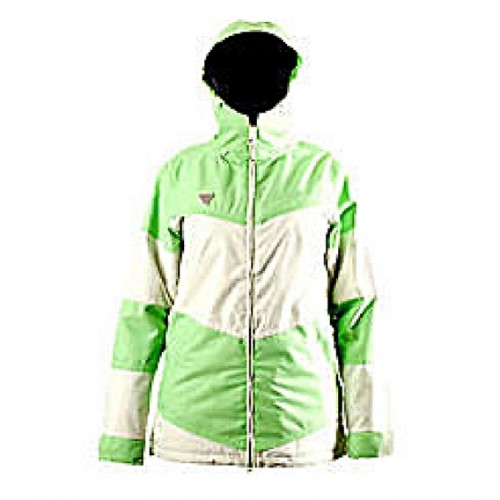 Chaqueta de snowboard Rome The Manifest Collection White Green