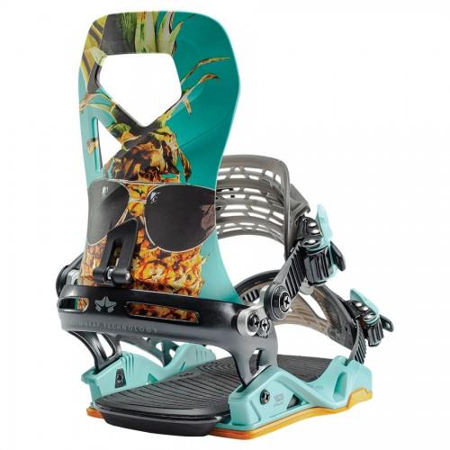 Fijaciones de snowboard Rome Vice Party Time 2020-1