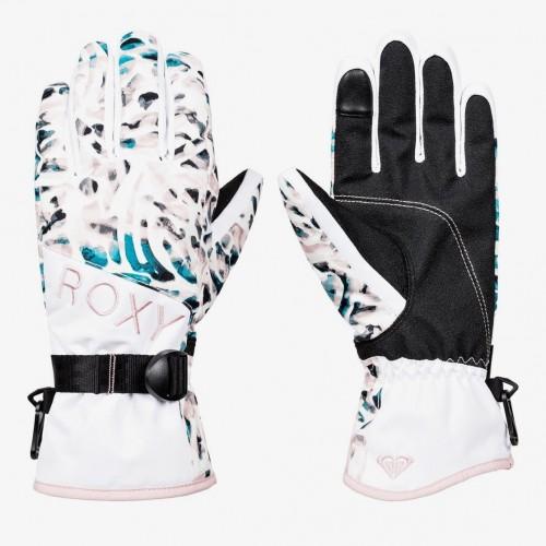 Guantes de snowboard Roxy Jetty Gloves Bright White Izi