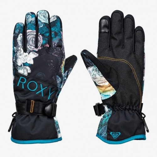 Guantes de snowboard Roxy Jetty Gloves True Black Sammy