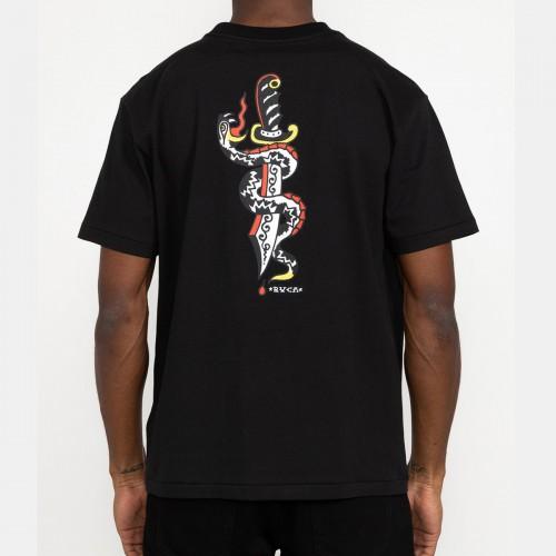 Camiseta RVCA Bert Krak Daggers Tee Black