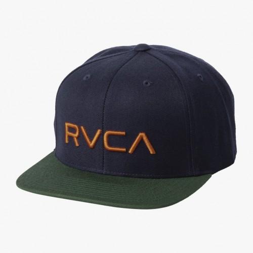 Gorra RVCA Rvca Twill Snapback Navy W/Green
