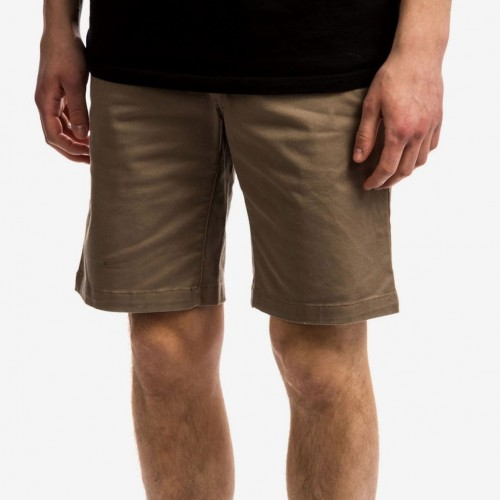 Bermudas RVCA Weekend Stretch Short Dark Khaki