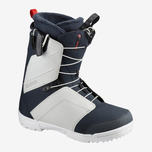 Botas de snowboard Salomon Faction Outer Space/Gray Violet/Racing Red 2020