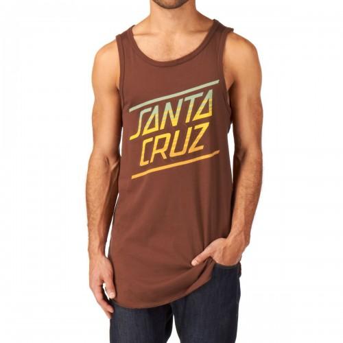 Camiseta Santa Cruz Sundown Vest Caramel