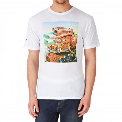Camiseta Santa Cruz Woodystock T-Shirt White