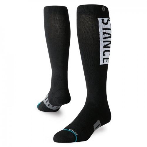 Calcetines de snowboard Stance OG Wool Black