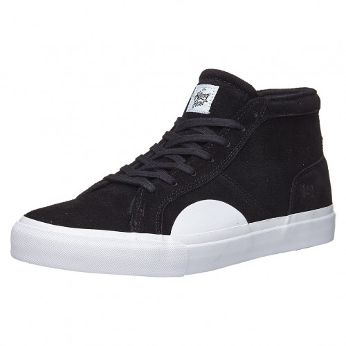 Zapatillas State The Killing Floor Salem Black/White Suede