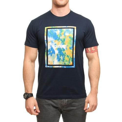 Camiseta Superbrand Burnside Tee Navy