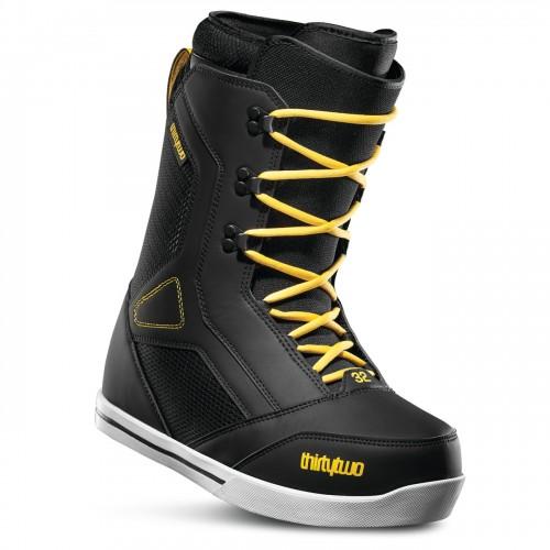 Botas de snowboard Thirtytwo 86 Black/Yellow 2020