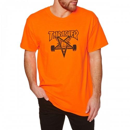 Camiseta Thrasher Skate Goat T-Shirt Orange