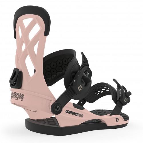 Fijaciones de snowboard Union Binding Contact Pro Pink 2020
