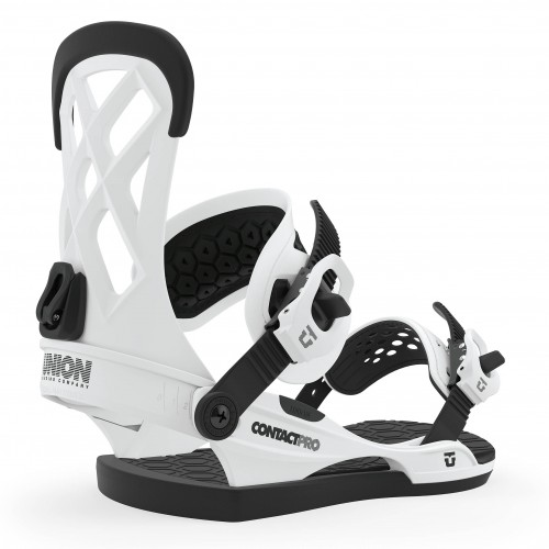 Fijaciones de snowboard Union Binding Contact Pro White 2020