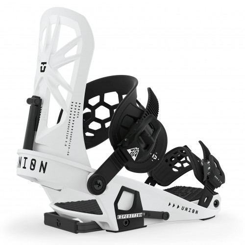 Fijaciones de snowboard Union Binding Expedition White 2020