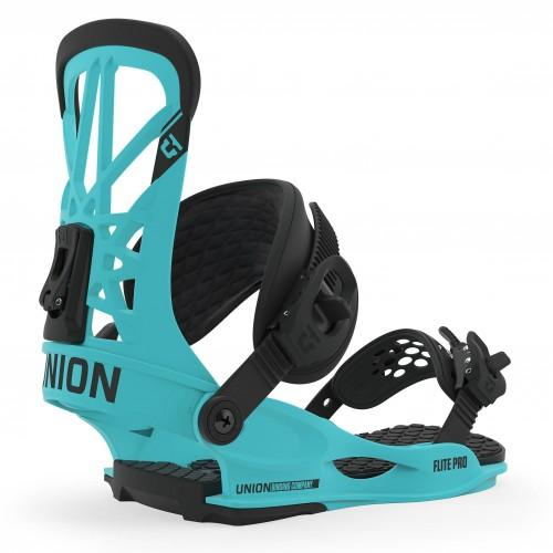 Fijaciones de snowboard Union Binding Flite Pro Hyper Blue 2020