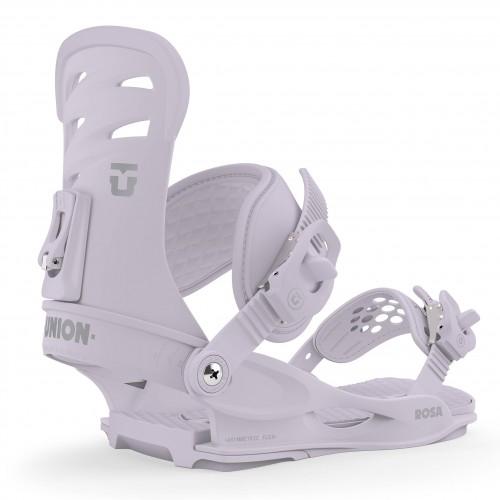 Fijaciones de snowboard Union Binding Rosa Lavender 2020