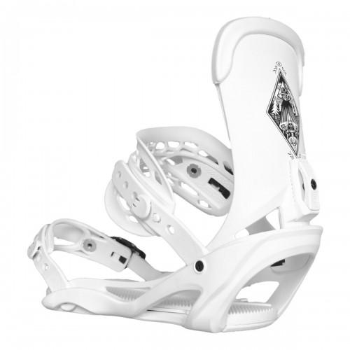 Fijaciones de snowboard Vimana The Scando B-Rage White 2020