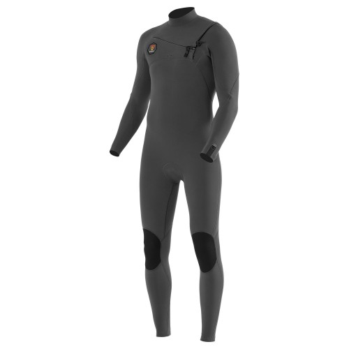 Neopreno de surf Vissla Seven Seas 4/3 Full Suit Chest Zip Charcoal