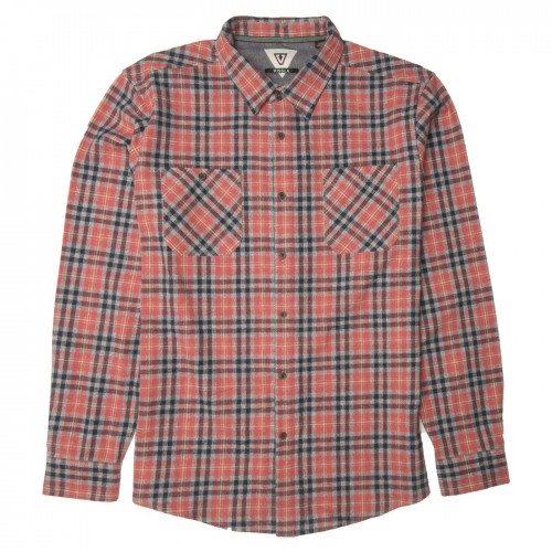 Camisa Vissla Cliffside Flannel Plumeria