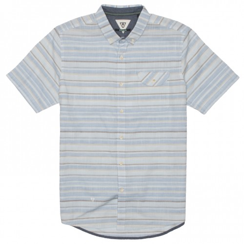Camisa Vissla Connection Blue Wash