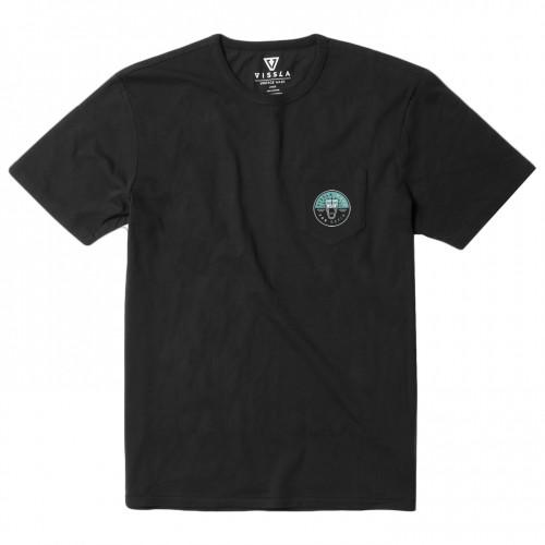 Camiseta Vissla Shorepound Vintage Wash Pocket Tee Phantom