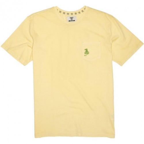 Camiseta Vissla Thomas Campbell Waves Tee Dusty Yellow