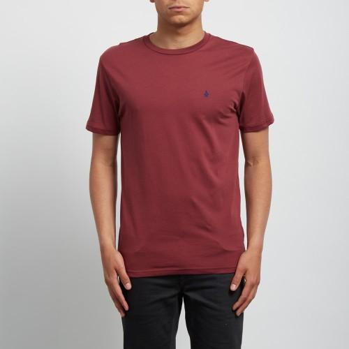 Camiseta Volcom Barred BSC Crimson