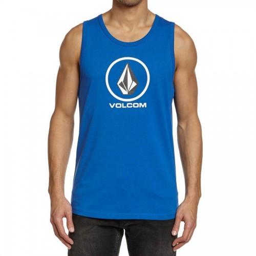 Camiseta Volcom Circle Staple Tank Top Blue