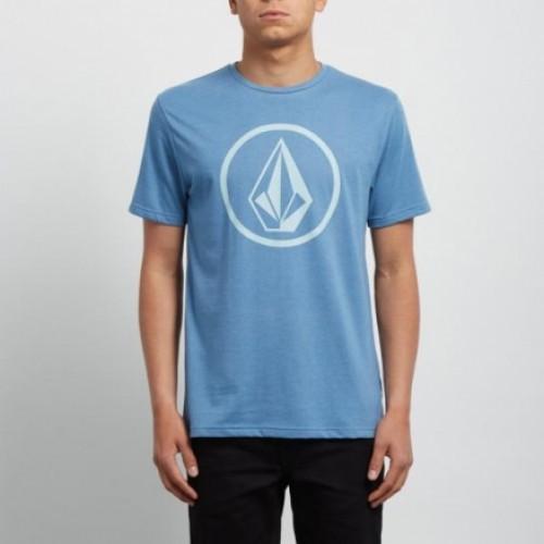 Camiseta Volcom Circle Stone HTH Wrecked Indigo