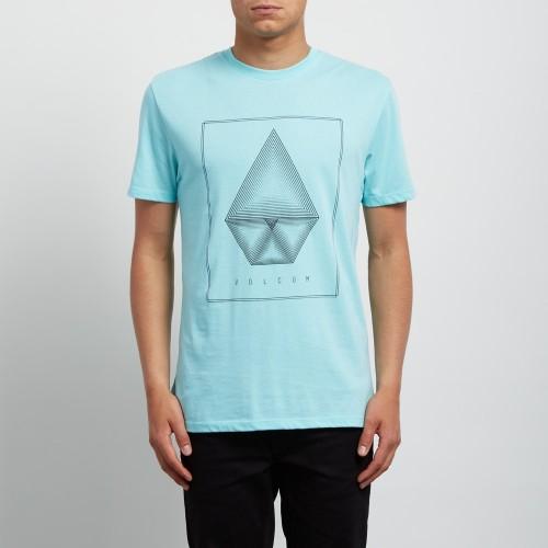 Camiseta Volcom Concentric DD Pale Aqua
